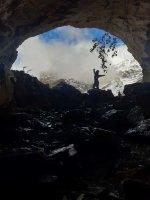 Entrada a la cueva de Cantodota