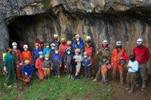 Visita infantil a la Cueva del Burro