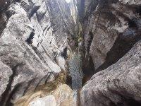 Descenso barranco pico Moro